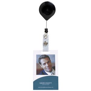 Rexel Retractable ID Card Holder