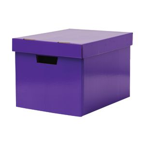 Marbig Coloured Archive Box Purple