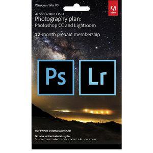Adobe Creative Cloud Photography Plan 12 Month Download