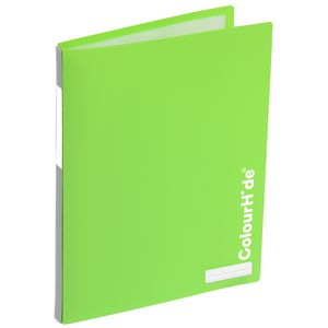 ColourHide My Refillable Display Book A4 20 Pocket Green