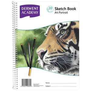 Derwent Academy A4 Sketch Book Portrait
