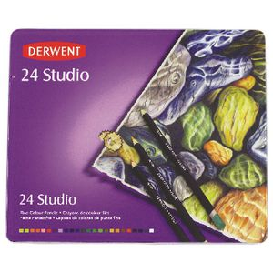 Derwent Studio Colour Pencils 24 Pack