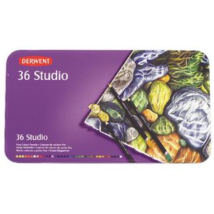 Derwent Studio Coloured Pencils 36 Pack