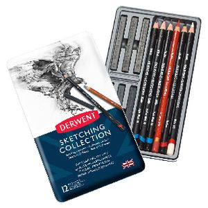 Derwent Sketching Collection Pencil Set 12 Pack