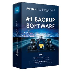 Acronis True Image 2017 Backup Software Box