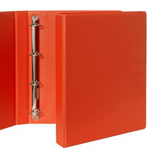 Binder A4 4 D-Ring 25mm Orange
