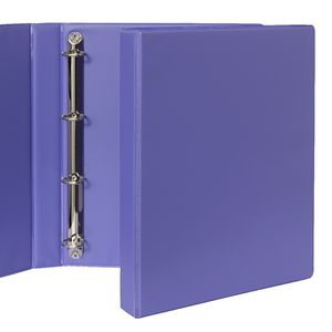 Binder A4 4 D-Ring 25mm Purple
