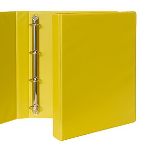 Binder A4 4 D-Ring 25mm Yellow