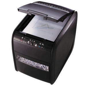 Rexel Stack & Shred Auto Feed Cross Cut Shredder 80X