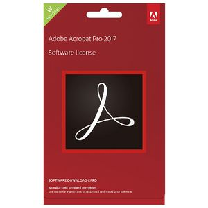Adobe Acrobat DC Windows Commercial Edition PC Card