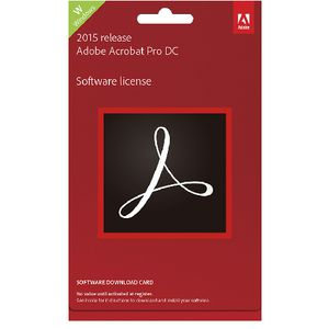 Adobe Acrobat Professional DC Commercial Edition PC Card