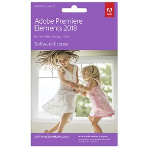 Adobe Premiere Elements 18 Card
