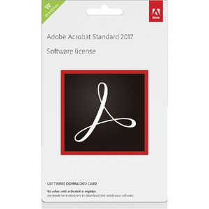 Adobe Acrobat Standard DC Commercial Edition PC Card