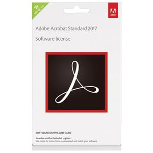 Adobe Acrobat Standard 2017 Windows Edition Download