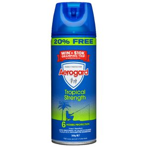 Aerogard Aerosol Tropical Strength 300g