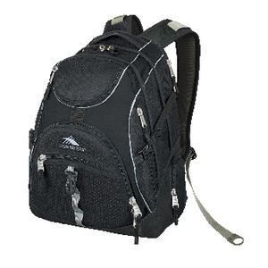 "High Sierra Notebook 17"" Access Backpack Black"