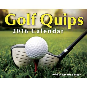 2016 Mini Day to Day Calendar Golf Quips