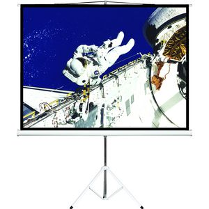 "Brateck 65"" Tripod Portable Projector Screen Black"