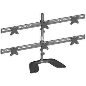 Brateck Free Standing 6 Monitor Stand