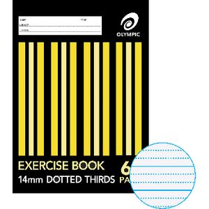 Olympic Dotted Thirds Exercise Book 14mm