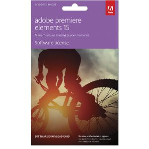 Adobe Premiere Elements 15 PC or Mac Download