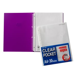 Aqua Drops A4 Display Book Refills 20 Pack