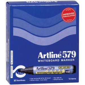 Artline 579 Whiteboard Markers Assorted 12 Pack
