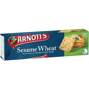 Arnott's Sesame Wheat Crackers 250g