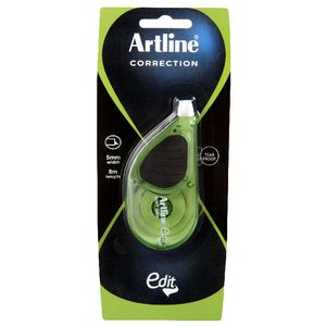 Artline Edit Maxi Correction Tape 5mm x 8m Green