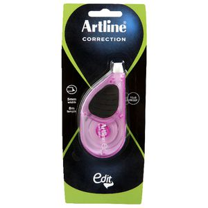 Artline Edit Maxi Correction Tape 5mm x 8m Pink
