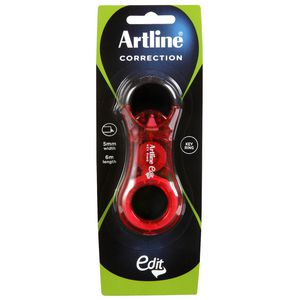 Artline Edit Keyring Correction Tape Red