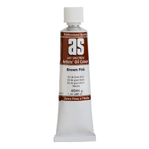 Art Spectrum Oil 40mL Brown Pink S3
