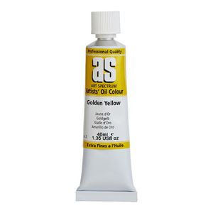Art Spectrum Oil 40mL Golden Yellow S2