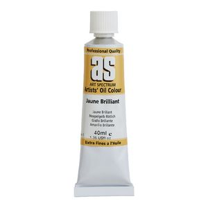 Art Spectrum Oil 40mL Jaune Brilliant S1