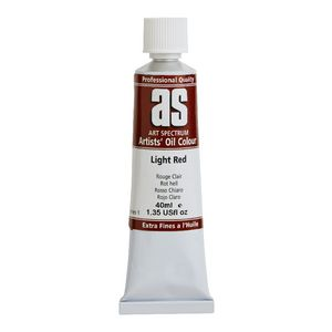Art Spectrum Oil 40mL Light Red S1