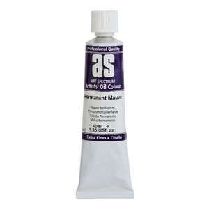 Art Spectrum Oil 40mL Permanent Mauve S2