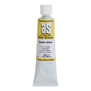 Art Spectrum Oil 40mL Naples Yellow Reddish S1