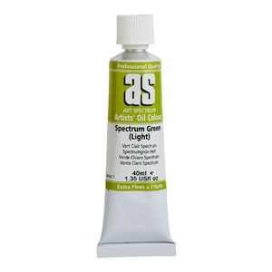 Art Spectrum Oil 40mL Spectrum Green Light S1