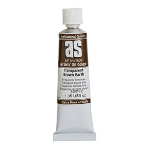 Art Spectrum Oil 40mL Transparent Brown Earth S1