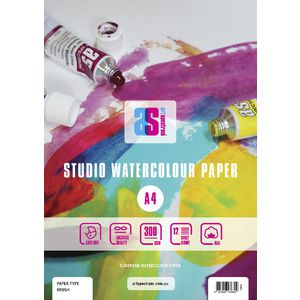 Art Spectrum A4 Watercolour Pad Rough 300gsm 24 Page
