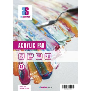 Art Spectrum A3 Acrylic Pad 400gsm 24 Page