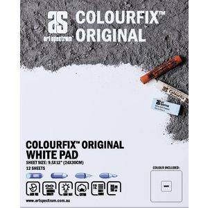 Art Spectrum Colourfix Pad 24 x 30cm Original White