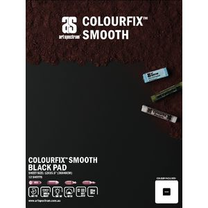 Art Spectrum Colourfix Pad 30 x 40cm Smooth Black