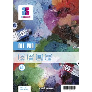 Art Spectrum A3 Oil Pad 300gsm 24 Page