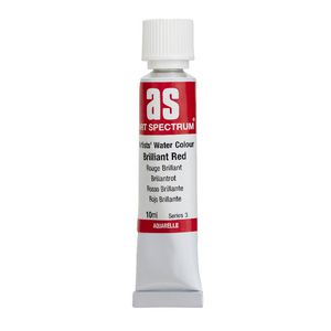 Art Spectrum Watercolour 10mL Brilliant Red S3