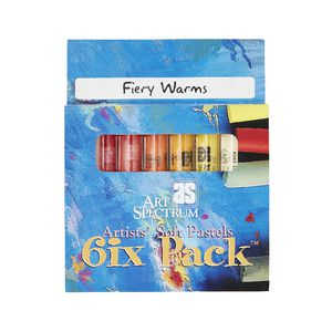 Art Spectrum Pastel Fiery Warms 6 Pack