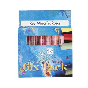 Art Spectrum Pastel Red Wine And Roses 6 Pack