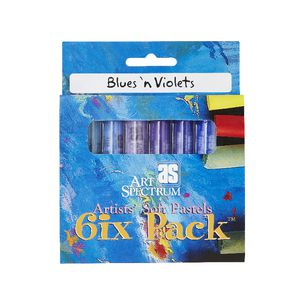 Art Spectrum Pastel Blues 'N' Violets 6 Pack