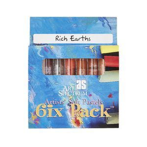 Art Spectrum Pastel Rich Earths 6 Pack