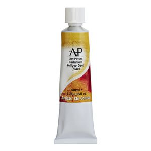 Art Spectrum Art Prism Oil 40mL Cadmium Yellow Deep Hue